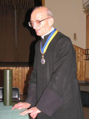 Tábori Nándor atya 2009-ben