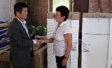 Hosszú távon támogatja a Magyar-Kínai Új Befektetők Szövetsége a gödi Topház Speciális Otthont
