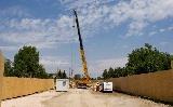 Építik a Szent István-hídra vezető utakat