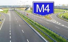Letették az M4-es gyorsforgalmi út alapkövét