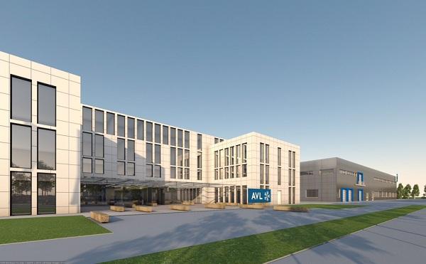 Az AVL központja és tesztbázisa épül meg Érden - fotó: erdmost.hu
