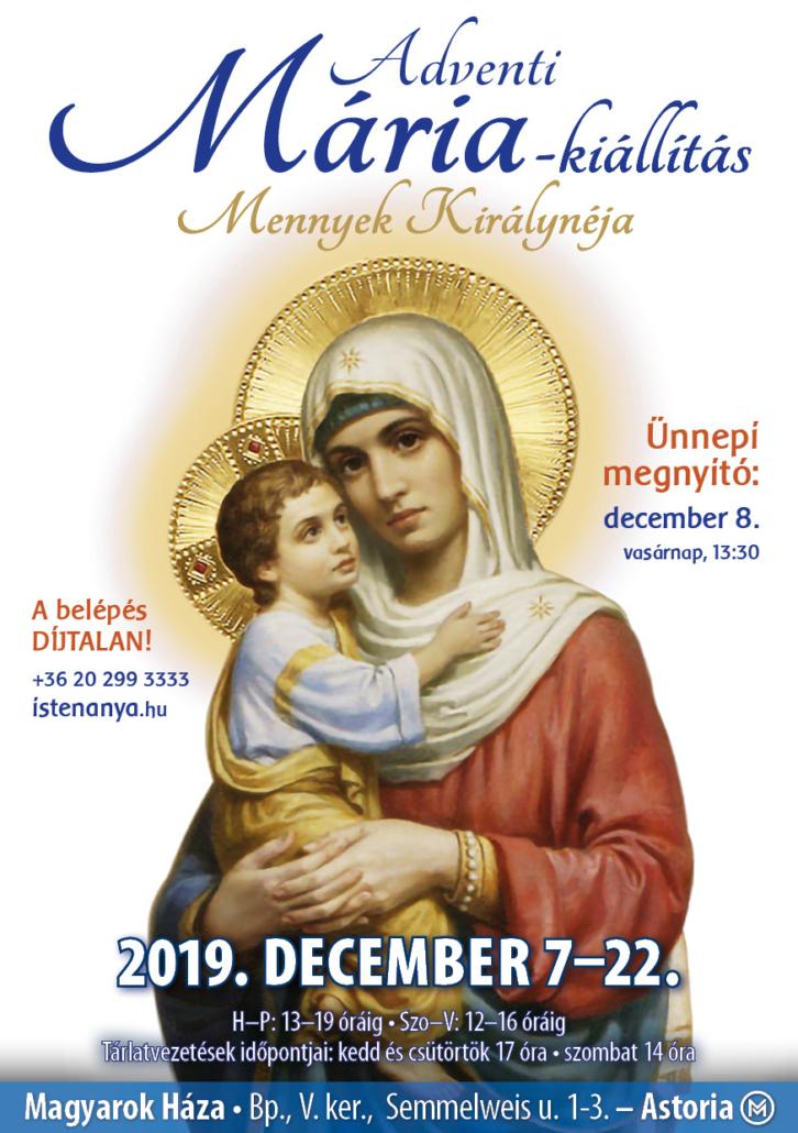 Adventi Mária-kiállítás