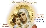 Adventi Mária-kiállítás - Mennyek Királynéja