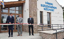 Egészségügyi központot avattak Maglódon