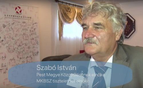 Interjú Szabó Istvánnal az MKBSZ ünnepségén